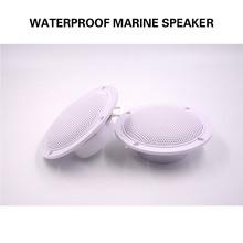 цены 5.25inch 2Way 160W Marine Stereo Boat Waterproof Speaker Bluetooth Motorcycle Outdoor Audio  Sound System For SPA UTV ATV Golf