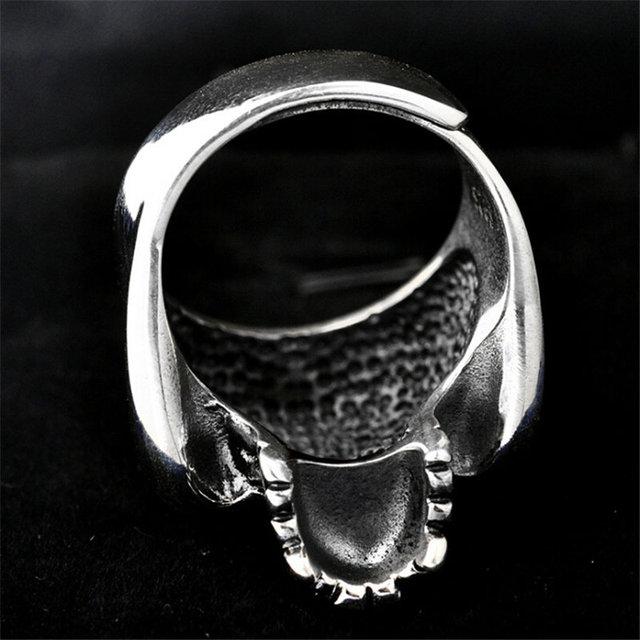 ORIGINAL 925 STERLING SILVER SKULL RINGS