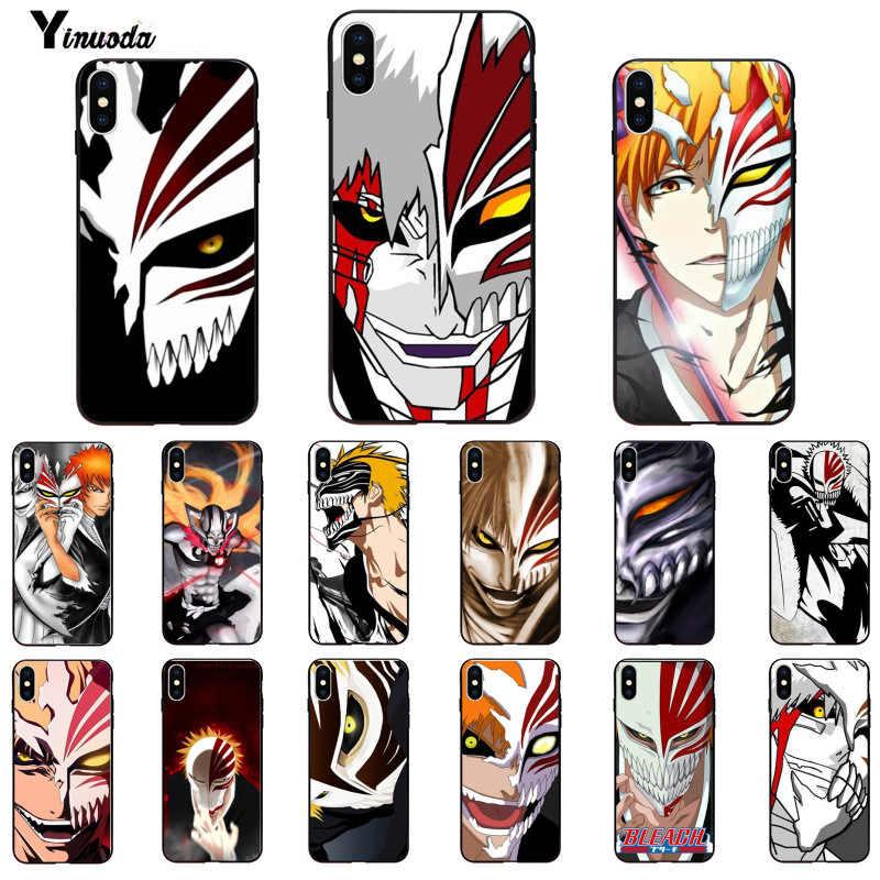 Yinuoda bleach ichigo hollow Masker Kleurrijke Leuke Telefoon Case voor Apple iPhone 8 7 6 6S Plus X XS MAX 5 5S SE XR 11 11pro 11promax