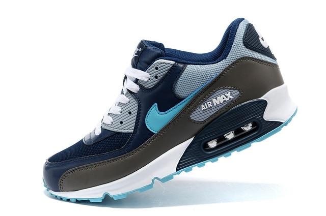 Nueva llegada Original clásico NIKE Air Max 90 hombres transpirable zapatos Maxly deportes al aire libre zapatos cómodos zapatos de tamaño 40 -45