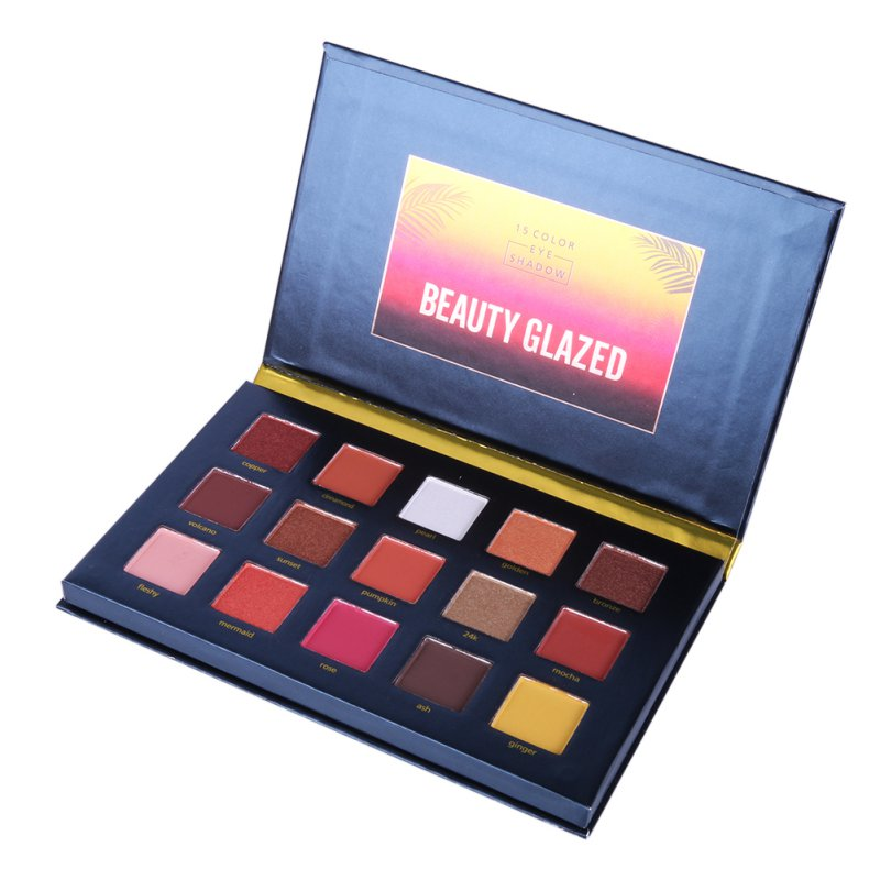 40 Colors Smoky Matte Eyeshadow Pallete Mixed Color Baking