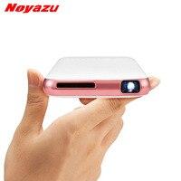 Noyazu D05 5000 mah Pin Nhỏ chiếu bỏ túi DLP WiFi di động Cầm Tay điện thoại thông minh Projector Android Bluetooth pocket BEAMER