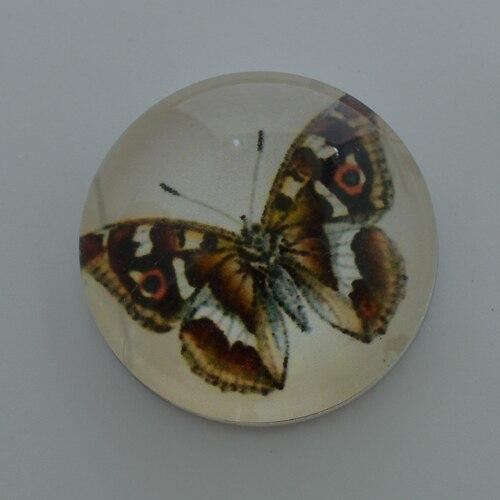 Duży motyl 18 przyciski zatrzaskowe mm, druku i szklana pokrywa zatrzaski na zatrzaski bransoletki fit ginger snaps biżuteria NC1759