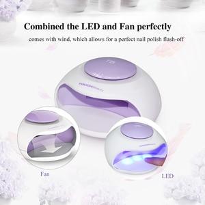 Image 2 - TOUCHBeauty sèche ongles Portable avec Air et lumière LED, bon pour le vernis régulier comme 0889