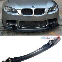 GT4 стильный передний спойлер из углеродного волокна для BMW 3 серии E90 E92 E93 M3 Coupe 2008-2013 B296