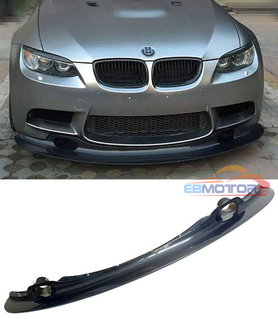 Bmw Xi 2012: GT4 STYLE REAL CARBON FIBER FRONT LIP SPOILER FOR BMW 3