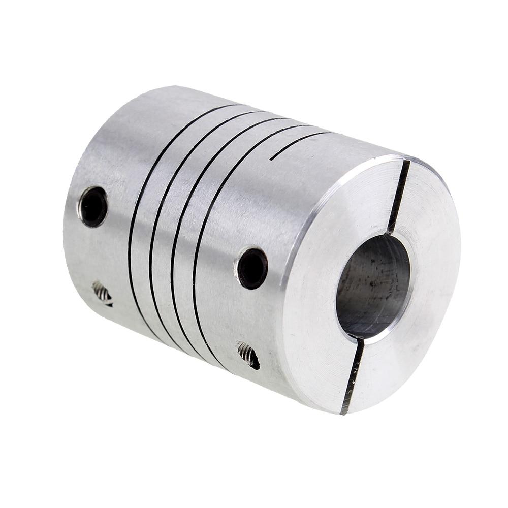 5pcs 5*8mm Flex Shaft Coupling Diameter 18mm Length 25mm 5mm to 8mm Flexible Shaft Coupler 50pcs lot 3d printer stepper motor flexible coupling coupler shaft coupling 5mm 8mm 25mm 5 5mm flexible shaft