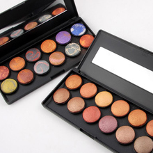 MISS ROSE Brand Makeup Natural 12 Color 3D Baked Shimmer Eye Shadow Palette Beauty Maquiagem Matte Eyeshadow Cosmetics 30pcs/lot