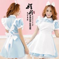 Alice in Wonderland fantasy lolita cosplay maid costume fantasy princess halloween costumes for women