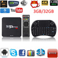 M9S-PRO Smart Android 5.1 TV Box Amlogic КОДИ S905 Quad Core бит 4 К 3 ГБ RAM 32 ГБ ROM WiFi H.265 + 2.4 Г Беспроводная Клавиатура Мышь