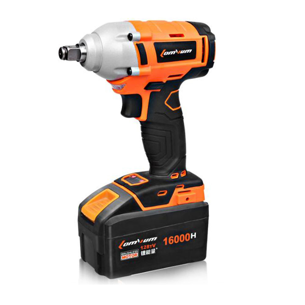 Electric Cordless Impact Wrench Brushless Spanner Lithium Rechargeable battery Wind Cannon Sleeve Installation Power Tool Set tenwa20v brushless electric impact wrench cordless rechargeable lithium battery socket impact digital electric wrench