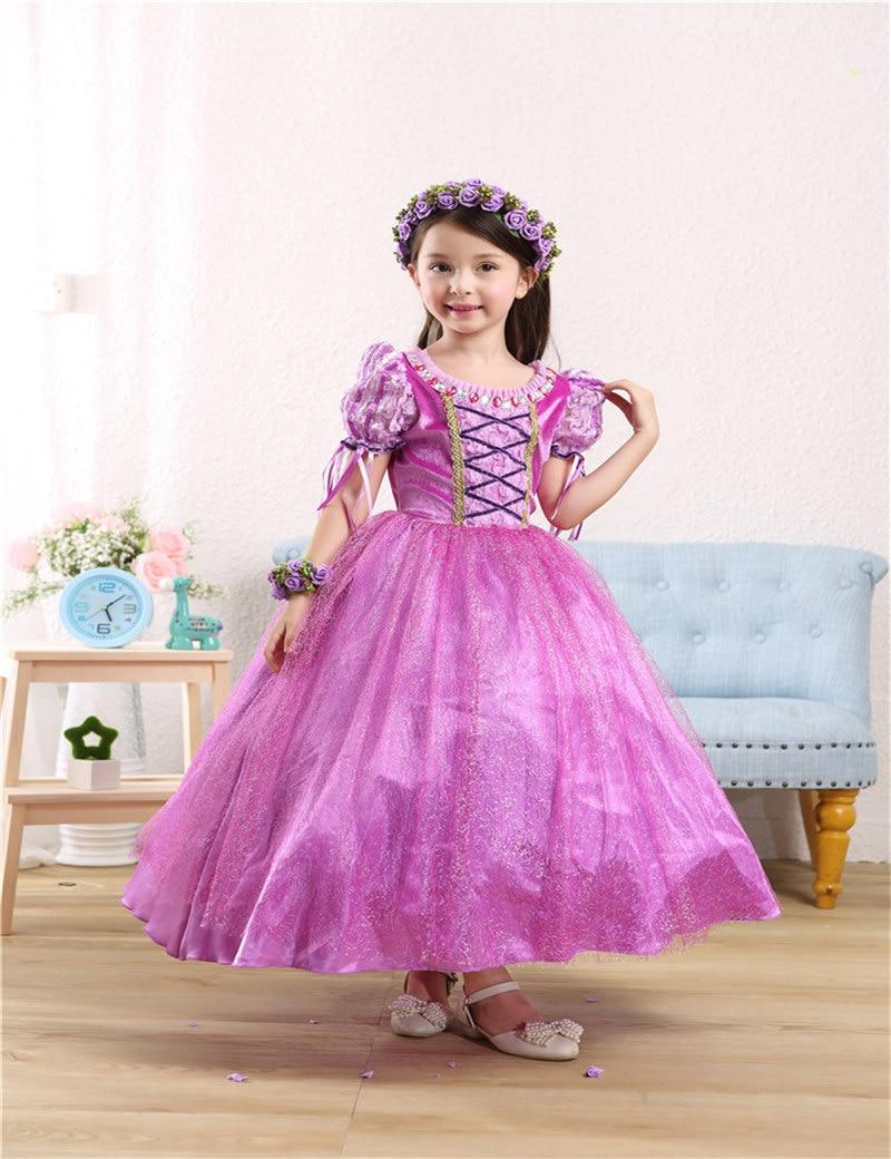 Kids girl formal dress sophia ball gown princess dresses for girls