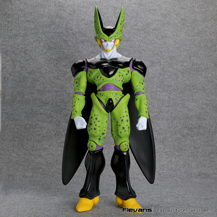 Anime Dragon Ball Z Perfect Cell Super Big PVC Action Figure Collectible Model Toy 19 dragon ball z super big size super son goku pvc action figure collectible model toy 28cm kt3936