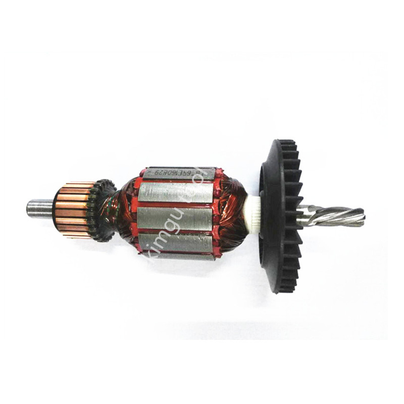 220-240V Motor Rotor Armature For Bosch GBM6 GBM6RE Anchor ac 220 240v armature motor rotor replacement for bosch gbm500re gsb450re psb400re gsb13re gbm400re armature parts engine