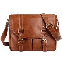 2018 Vintage Classic Briefcase PU Leather Bag Men's Handbag Casual&Business Bag For 13 Laptop