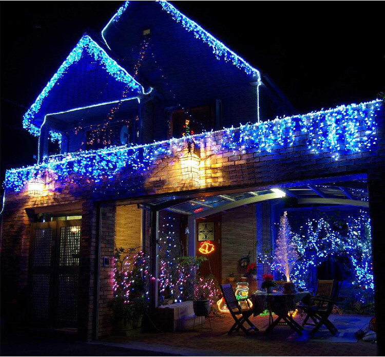 Hot 3,5 m 96 SMD White Holiday Festival Gardin Bryllup Lys LED String - Ferie belysning - Foto 6