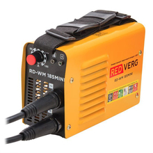 Аппарат сварочный инверторный RedVerg RD-WM 185MINI (мощность 6,6 кВт, Сварочный ток 20-185А, Диаметр проволоки 4 мм)