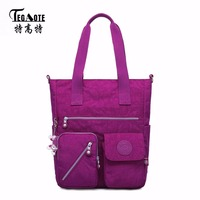 TEGAOTE Top Handle Bag Shoulder Luxury Handbags Women Bags Designer Nylon Beach Casual Tote Female Purse