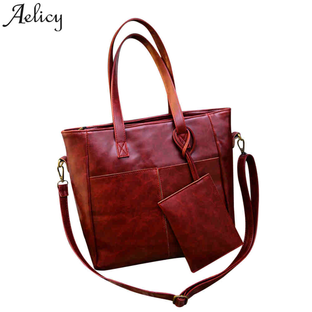 Aelicy Handbag and Purse Set Women Big Capacity Shoulder Bags Ladies Hand Bags PU Leather Bags Women Autumn Crossbody Bag pair of starfish shape earrings for women