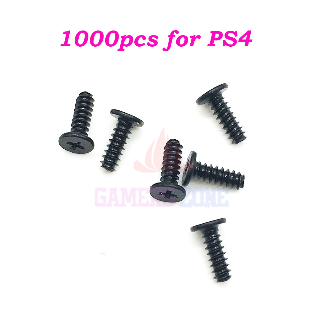 1000PCS for Sony Playstation 4 Repair Kit Philips Head Screws For PS4 Wireless Controller Screws