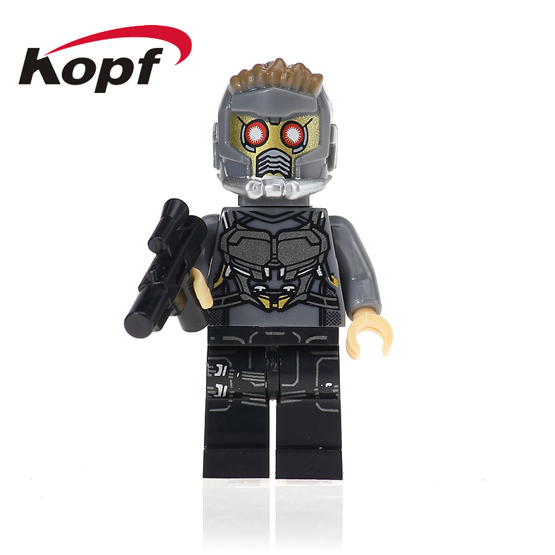Single Sale Guardians of the Galaxy 2 Star-Lord Gamora Yondu Drax The Deatroyer 76081 Building Blocks Children Gift Toys XH 603