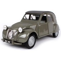 Maisto 1:18 1952 citroen 2cv gray car diecast 213*81*85mm luxury classic car model exquisite motorcar collective edition 31834