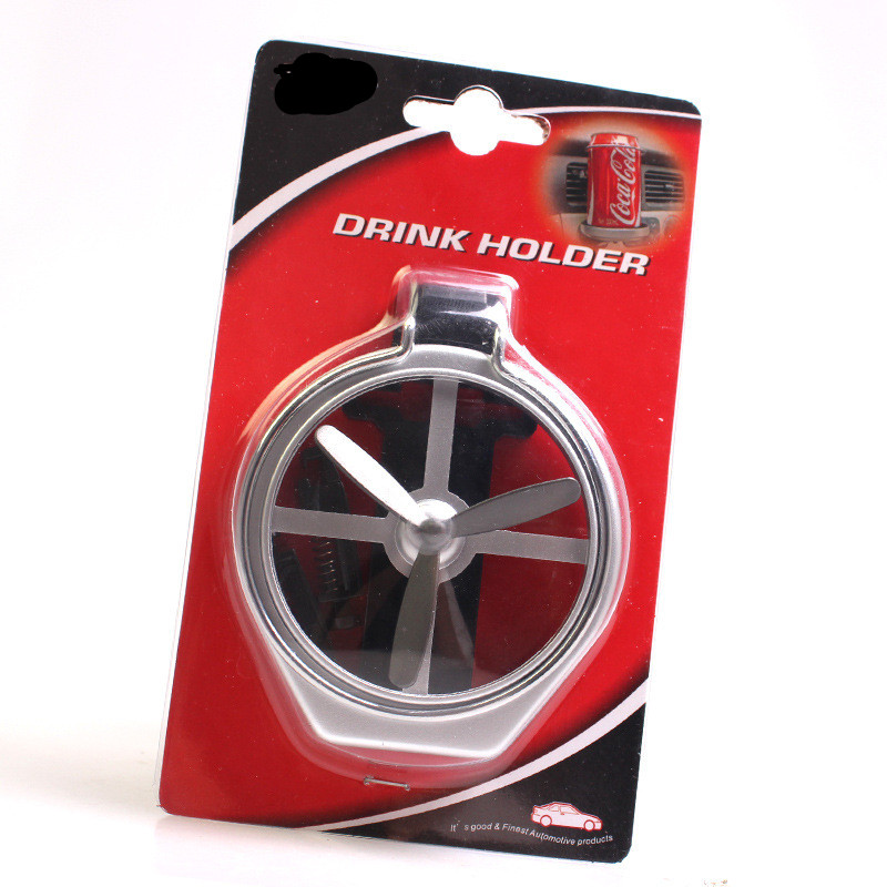 Car Air Outlet Drink Holder Car Case Water Cup Holder Car Drink Holder With Small Fan Auto Universal Interior Accessories 5