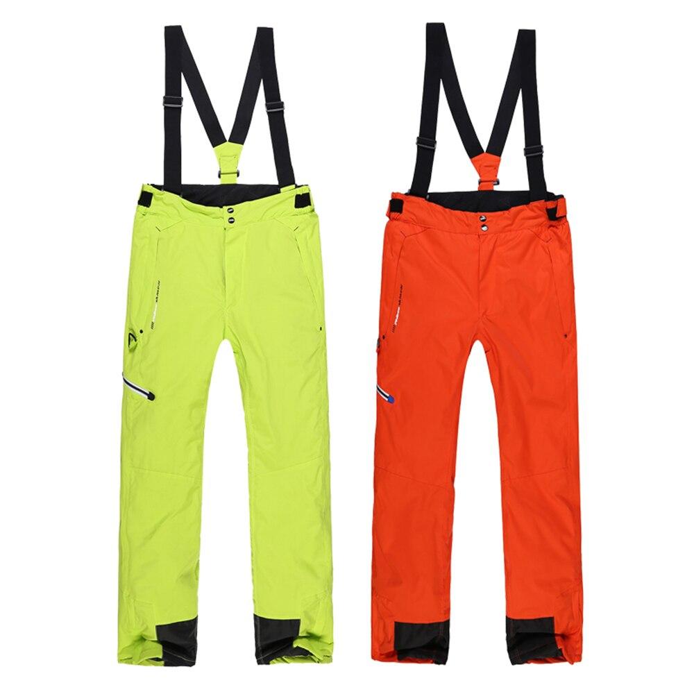 Nouvelle Marque En Plein Air Coupe-Vent Imperméable Respirant Épaissir Hiver Ski Pantalon de Neige Pantalon de Ski Snowboard Pantalon