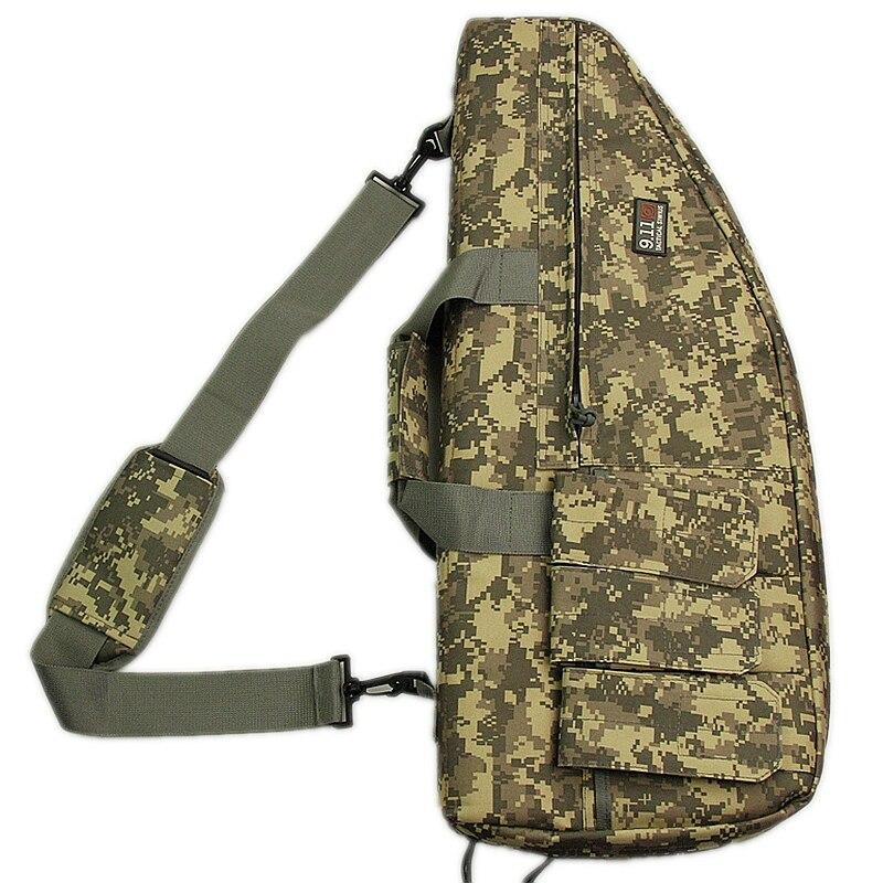 Nero tan verde 70 cm Nylon sacchetti sacchetto Pistola Sacchetto Tattico  della Pistola del Fucile per Outdoor War Gioco Attività della pistola del  Fucile ... aa9007075d89