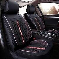 Универсальные чехлы сидений автомобиля для всех моделей Toyota rav4 желаю land cruiser vitz mark auris prius camry corolla Корона автомобиля аксессуары