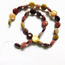 Оптовая продажа 1 Веревка натуральный mookaite драгоценный камень