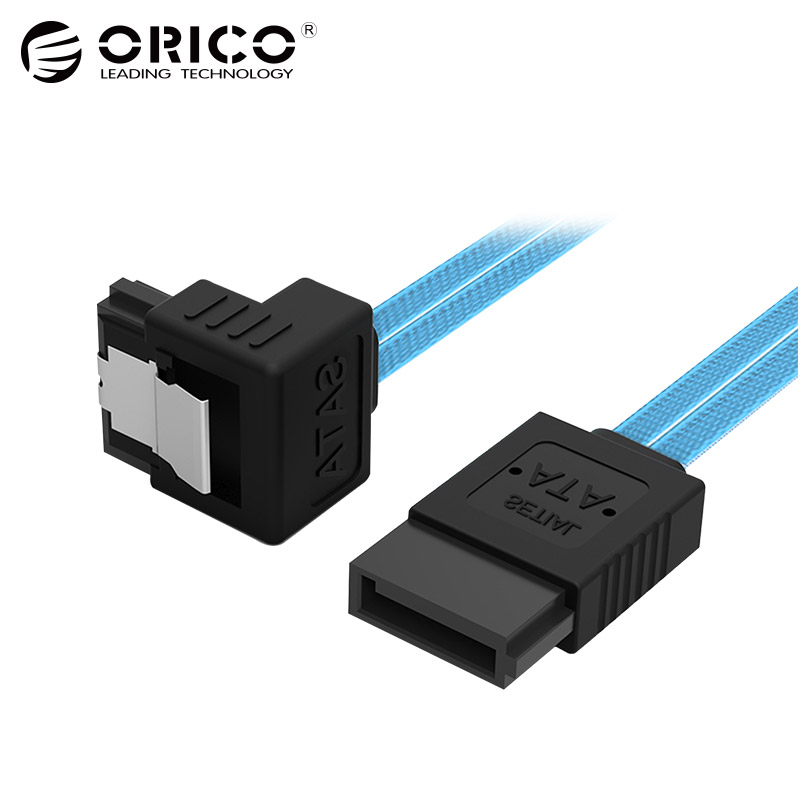 ORICO CPD-7P6G-BA60 Original Two-channel Serial Data Cable SATA3.0 Solid SSD Hard Line orico original sata3 0 four set sata data cable sas solid ssd hard line black cpd 7p6g bw904s v1