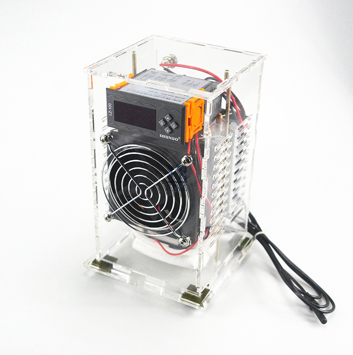US $50 0 |Diy aquarium chiller,refrigerator fish suite semiconductor  electronic refrigeration small air condition DIY mini air conditioner-in