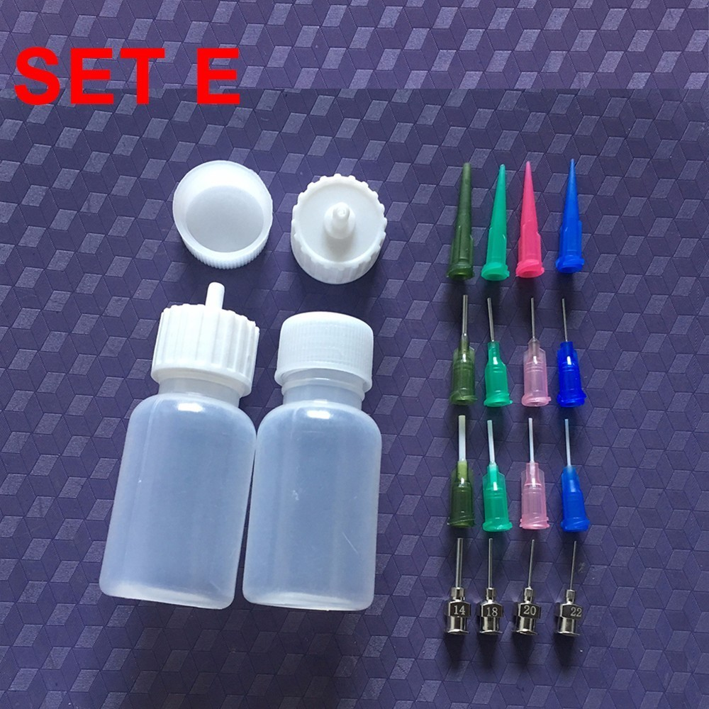 Henna Paste Bottle Nozzle Tips Kit Applicator Drawing For Body Art Paint Making Tool Set Tattoo Accessories