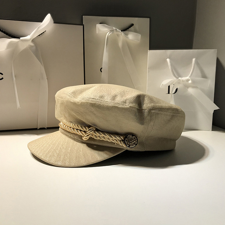 Chapéus de marinheiro de malha das senhoras