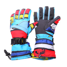 Professional Skiing Gloves Men Women Warm Winter Waterproof Snow Gloves Male Female Guantes Snowboard Gloves HXST54