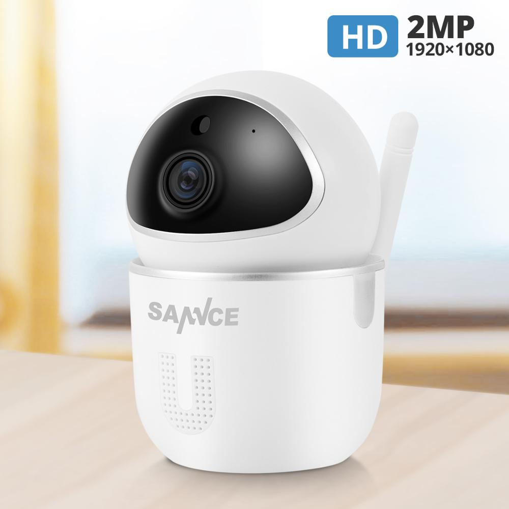 SANNCE FHD 1080P Cloud Wireless IP Camera Home Security Surveillance CCTV Network Camera Auto Tracking Night Vision Camera MIPC