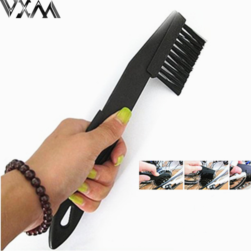 VXM Cycling Bike Bicycle Chain Wheel Cleaning Cleaner Scrubber Brush Tool Kit Ride Lover Bike Accessories Useful Cleaner Tools|Bicycle Repair Tools| |  - title=