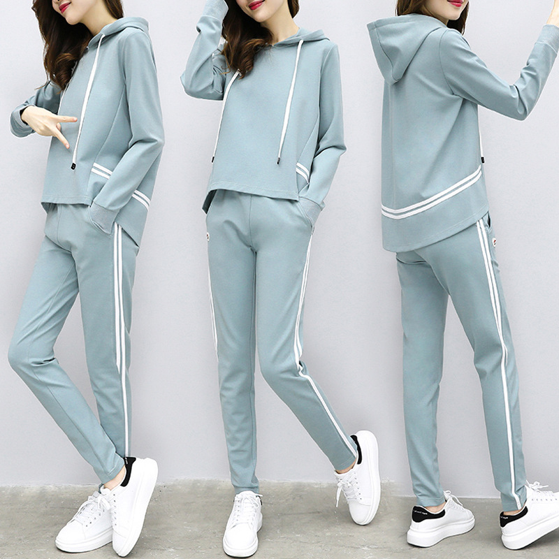 Fitness Clothes Woman Sportswear Suit Female Training Dlothes Sweater Loose Tide Jogging Suits Physical Exercise Clothes