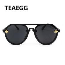 2019 Bee Decoration New style Fashion Personality Sunglasses Women Brand Designe