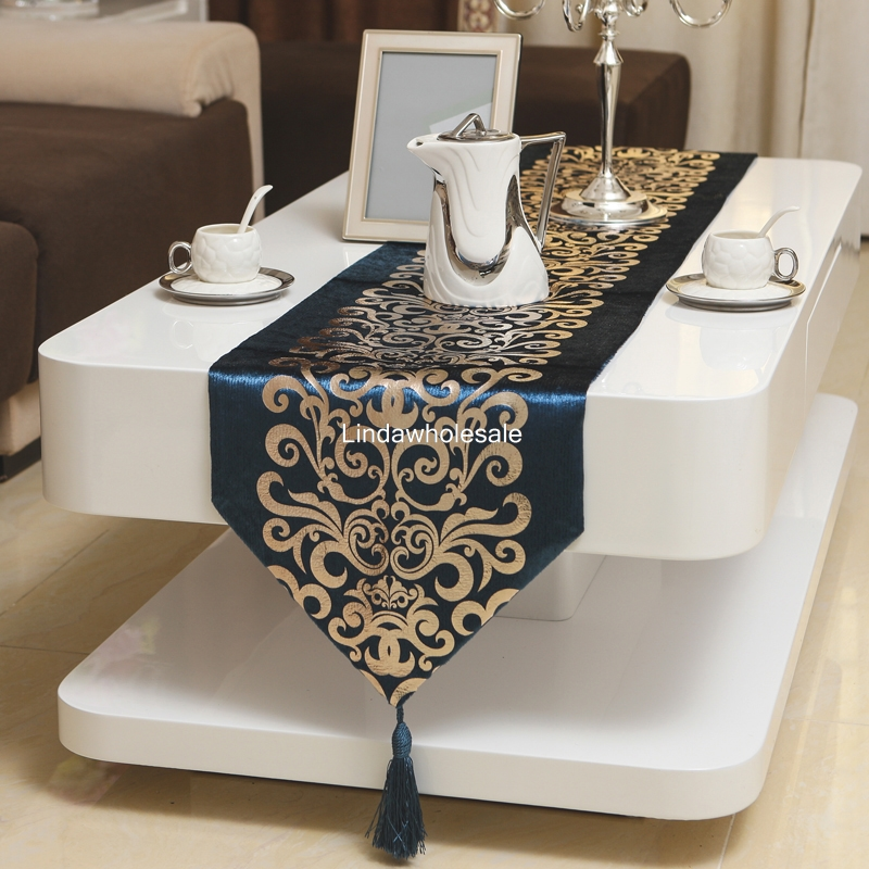 European modern table flag,coffee table bronzing tablecloth,TV cabinet home furnishings