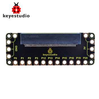 Keyestudio microbit Edge Connector IO Breakout Board Shield For BBC Micro:bit acs800 inverter io board control rmio 11c motherboard 15 22 30 45 75 55kw