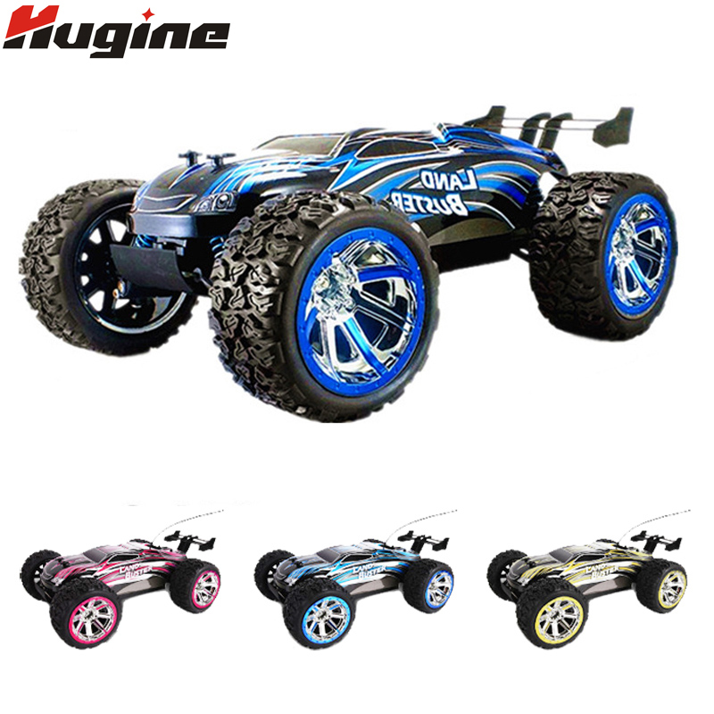 RC Cars 2.4G 4WD Bigfoot Monster Truck Land Buster Speed Racing Off-Road Vehicle Remote Control Car Model Electronic Hobby Toy