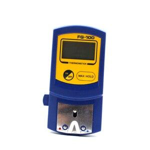 Image 2 - Digitale Thermometer FG 100 Soldeerbout Tip Temperatuur Tester Met 10Pcs Thermometer Sensor Vs Hakko Fg100
