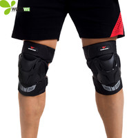 WOSAWE Men Women S 2pcs Cycling Knee Pads Sets Mountain Bike Protection Sets Bicycle Accessories