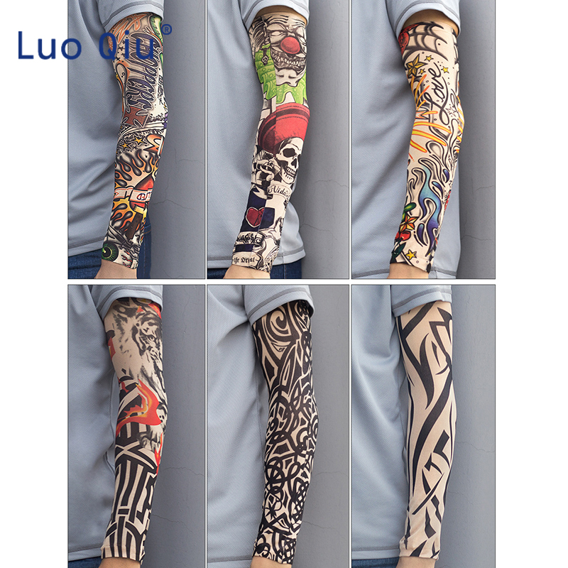 2pcs/lot Cycling Arm Sleeve UV Protection Stretchy Sunscreen Arm Sleeves Arm Warmers Basketball Hiking Running Arm Sleeves