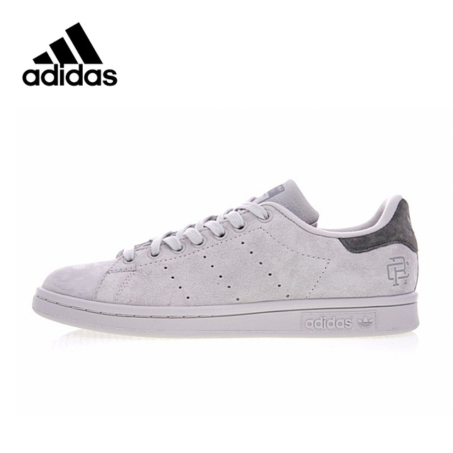 Original New Arrival Official Adidas Originals STAN SMITH x Reigning Champ  Men s   Women s Skateboarding Shoes Sneakers BS9559 1d044ce8a