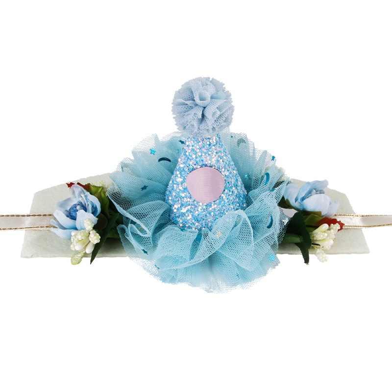 Модные милые кружево кольцо колокольчик Magic кепки Принцесса Корона собака кошка заколка на волосы для домашних животных Свадьба День рождения украшение для костюмированного представления Pet подарок