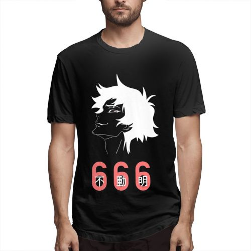 Plus Size Devilman Crybaby T Shirt Graphic Tee Men Special Short Sleeve Casual Hot Sale Fashionable Round Neck