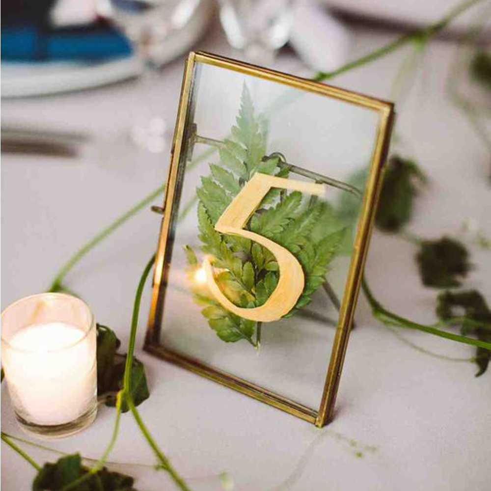 10pcs Stained Glass Frame Photo Display Pressed Flowers Display